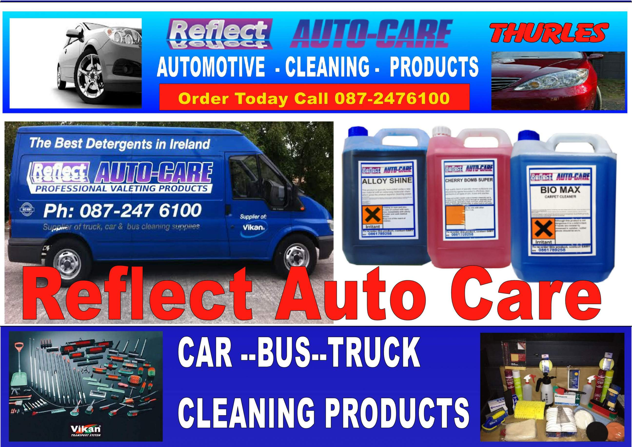 Reflect Auto Care   Cleaning Products in THURLES, Co.Tipperary ...