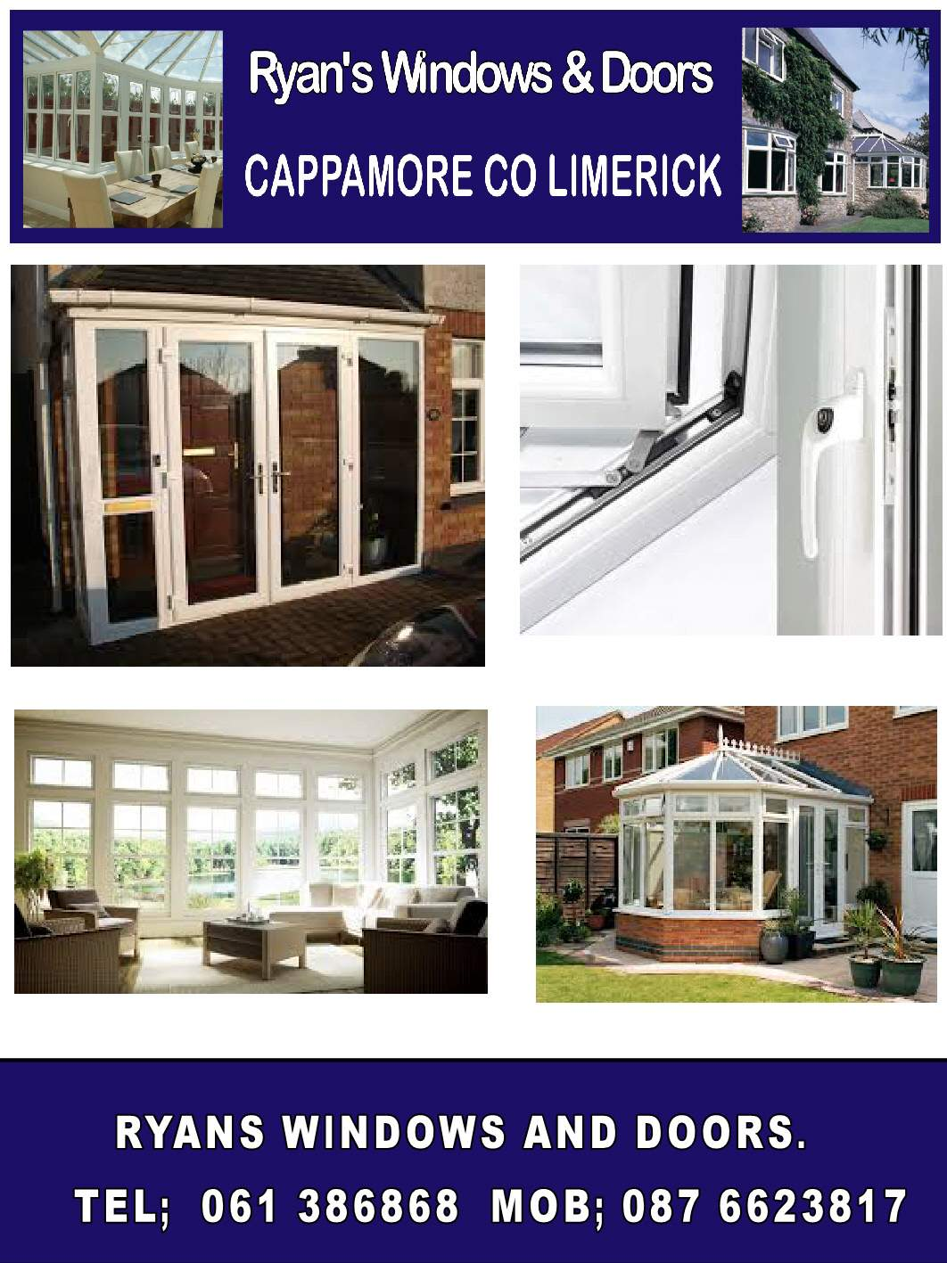 Show & RYANS WINDOWS AND DOORS LIMERICK | windows and doors in Co Limerick ...