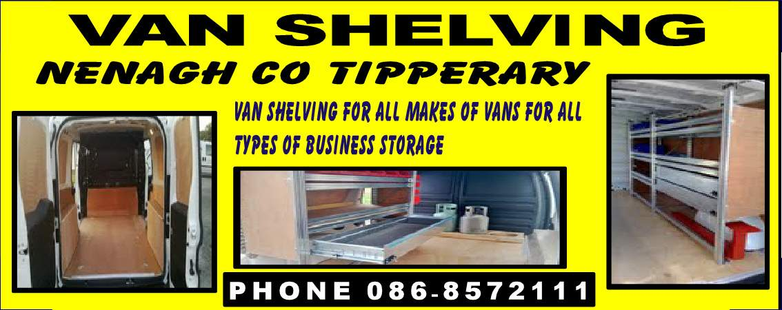 Van Shelving Van Shelving In Nenagh Co Tipperary Shop