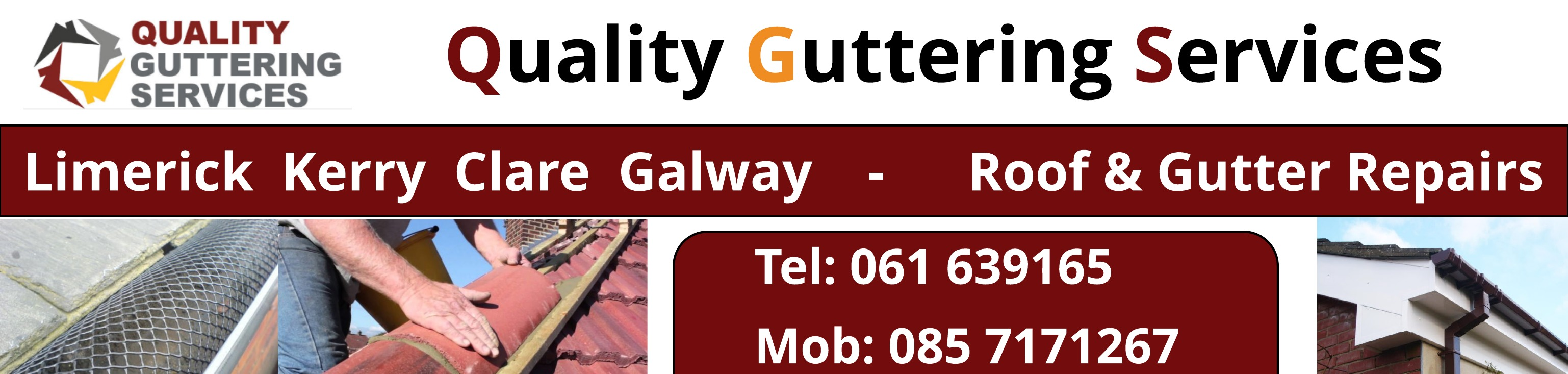 Roofing Repairs Limerick Quality Guttering Services