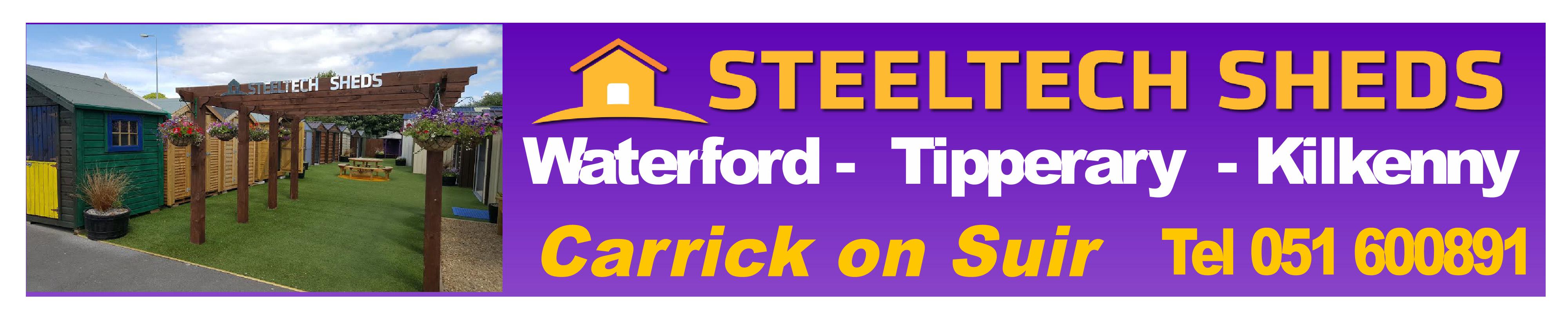 Garden Sheds Kilkenny steeltech sheds | steel sheds in carrick on suir, co.tipperary