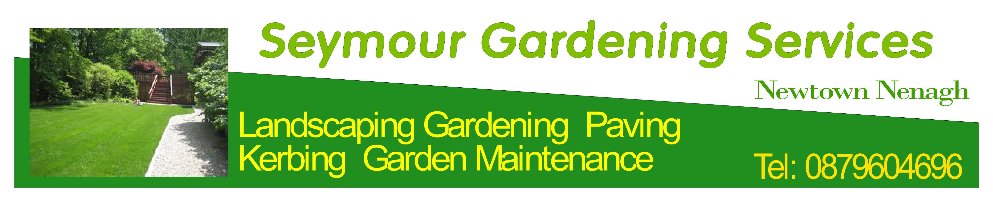 Seymour garden services landscaping and garden for Cleaning and gardening services