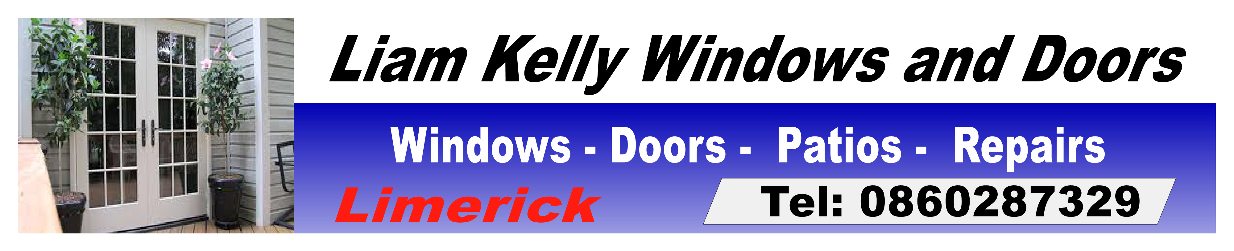 Liam Kelly Windows And Doors In Limerick Co For Business