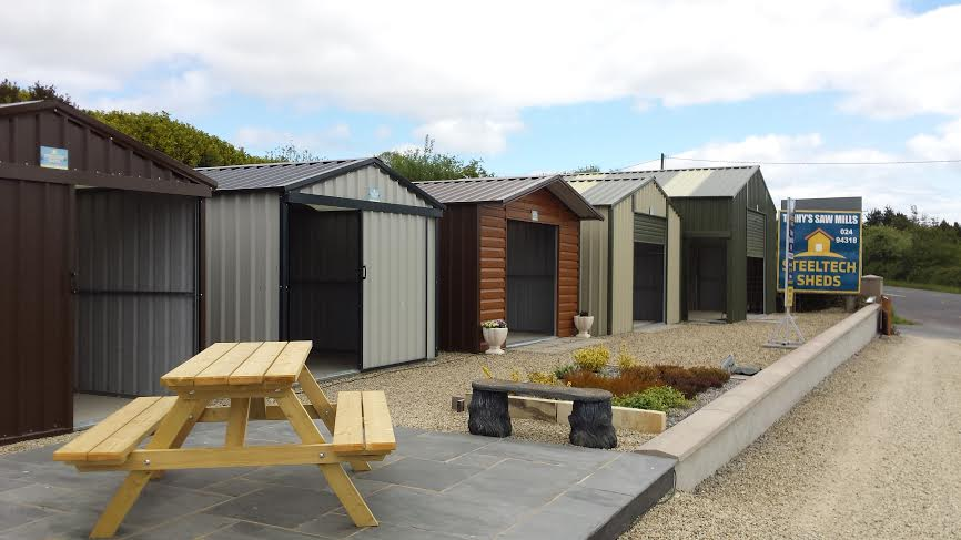 trihys saw mills garden sheds in youghal cocork shop for business - Garden Sheds Galway