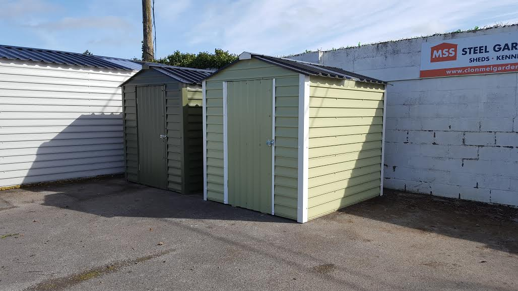 Mss steel garden sheds steel sheds in clonmel co for Garden shed kilkenny